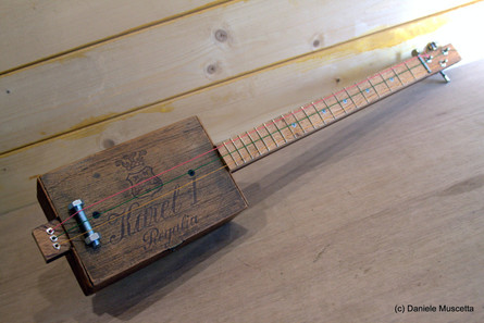 Regalia Antique Cigar Box Guitar